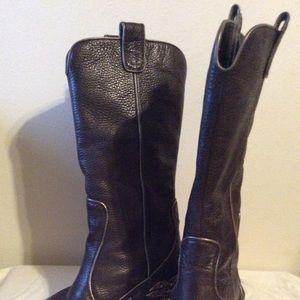 FABULOUS Cowboy Boots Sz 6.5 Brown